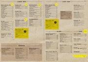 menu a3 light