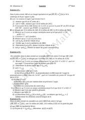 isometrie bac math