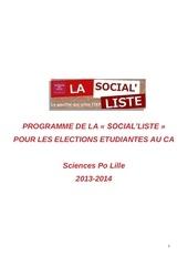 la social liste programme definitif 1