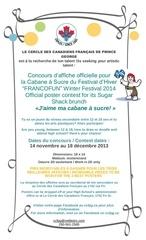 Fichier PDF official poster contest