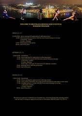 weekend program workshops schedule
