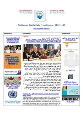 aihr iadh human rights press review 2013 11 15
