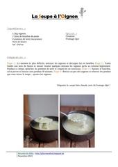 Fichier PDF la soupe oignons