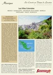 mexique les villes coloniales