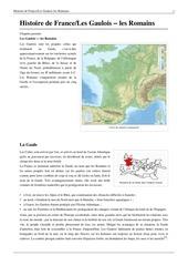 histoire de france les gaulois les romains
