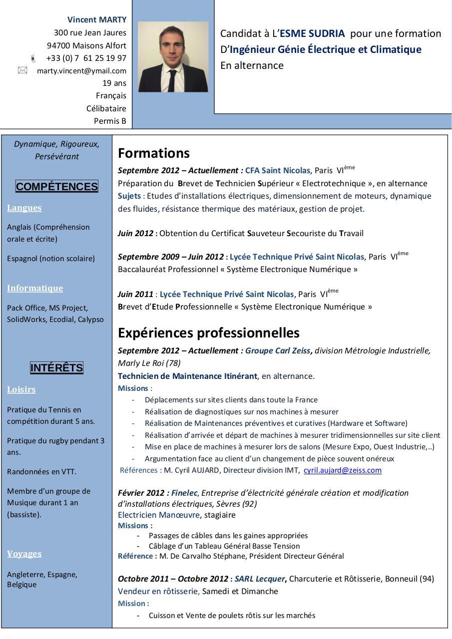 cv-ecoles pdf par vincentm