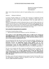 lettre ouverte comenq blog vd