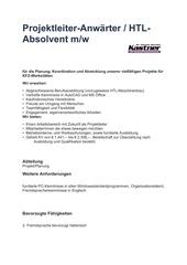 Fichier PDF projektleiter
