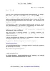 remerciements petition lettre ouverte vd