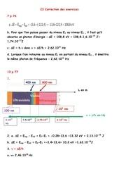 t1 c3 correction des exercices du livre