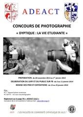 Fichier PDF concours de photographie affiche