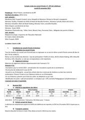 conseil d ecole 1 mardi 05 novembre 2013