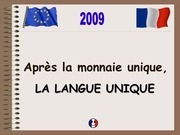 langue europeenne