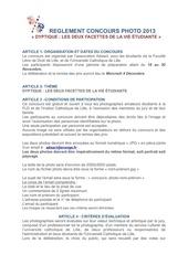 Fichier PDF reglement concours photo 2013