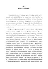 rita robot infirmiere pdf