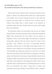 Fichier PDF the united states declaration of independence