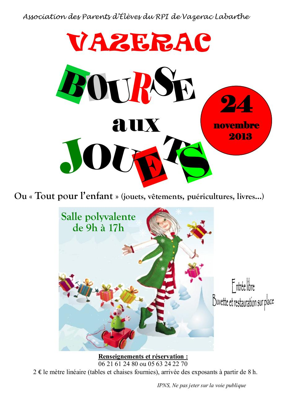 affiche bourse jouets 2013 affiche bourse jouets fichier pdf. Black Bedroom Furniture Sets. Home Design Ideas