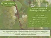 invitation gourmande vins et vignoble a chablis