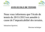 avis ecole de tennis