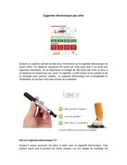 Fichier PDF cigarette electronique