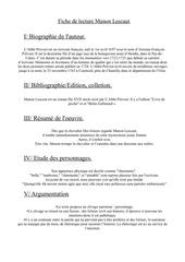 Fichier PDF fiche de lecture manon lescaut 1