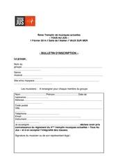 Fichier PDF bulletin d inscription