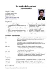 Fichier PDF cv carlie gouyet technicien informatique automaticien
