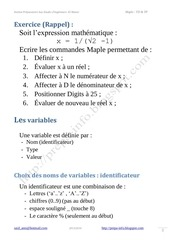 Maple Manipulation des variables.pdf - page 2/12