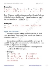 Maple Manipulation des variables.pdf - page 3/12