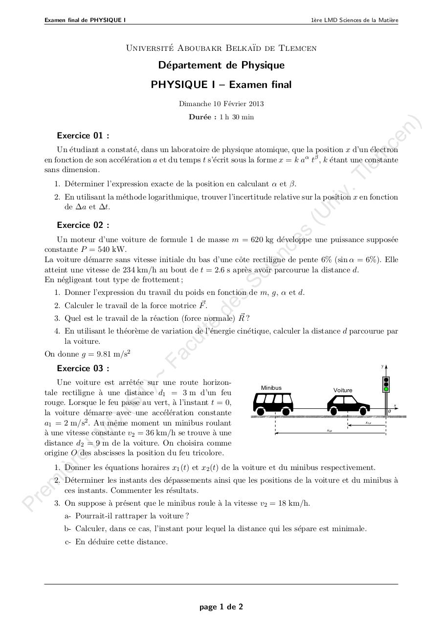 Aperçu du document 3 Examen Final_SM_Physique1_2013.pdf - page 1/2