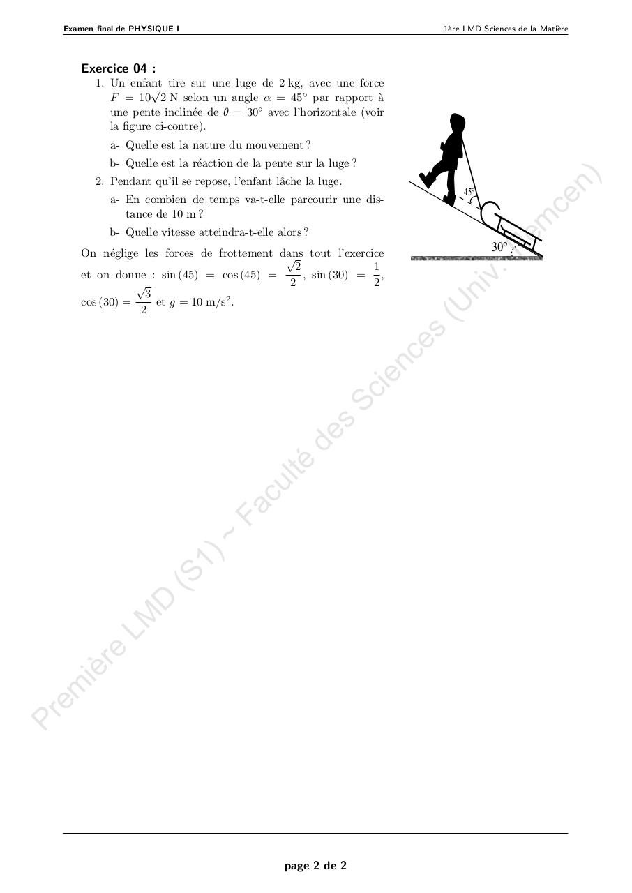 Aperçu du document 3 Examen Final_SM_Physique1_2013.pdf - page 2/2