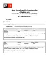 Fichier PDF bulletin d inscription tremplin 4 tous au jus