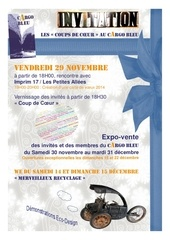 invitation aux evenements de cargo bleu de decembre 2013 1