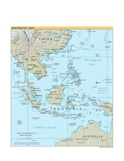 maps of the world southeast asia ww