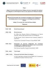 programme reunion abidjan 19 11 2013