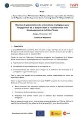 termes de reference reunion abidjan 19 11 2013