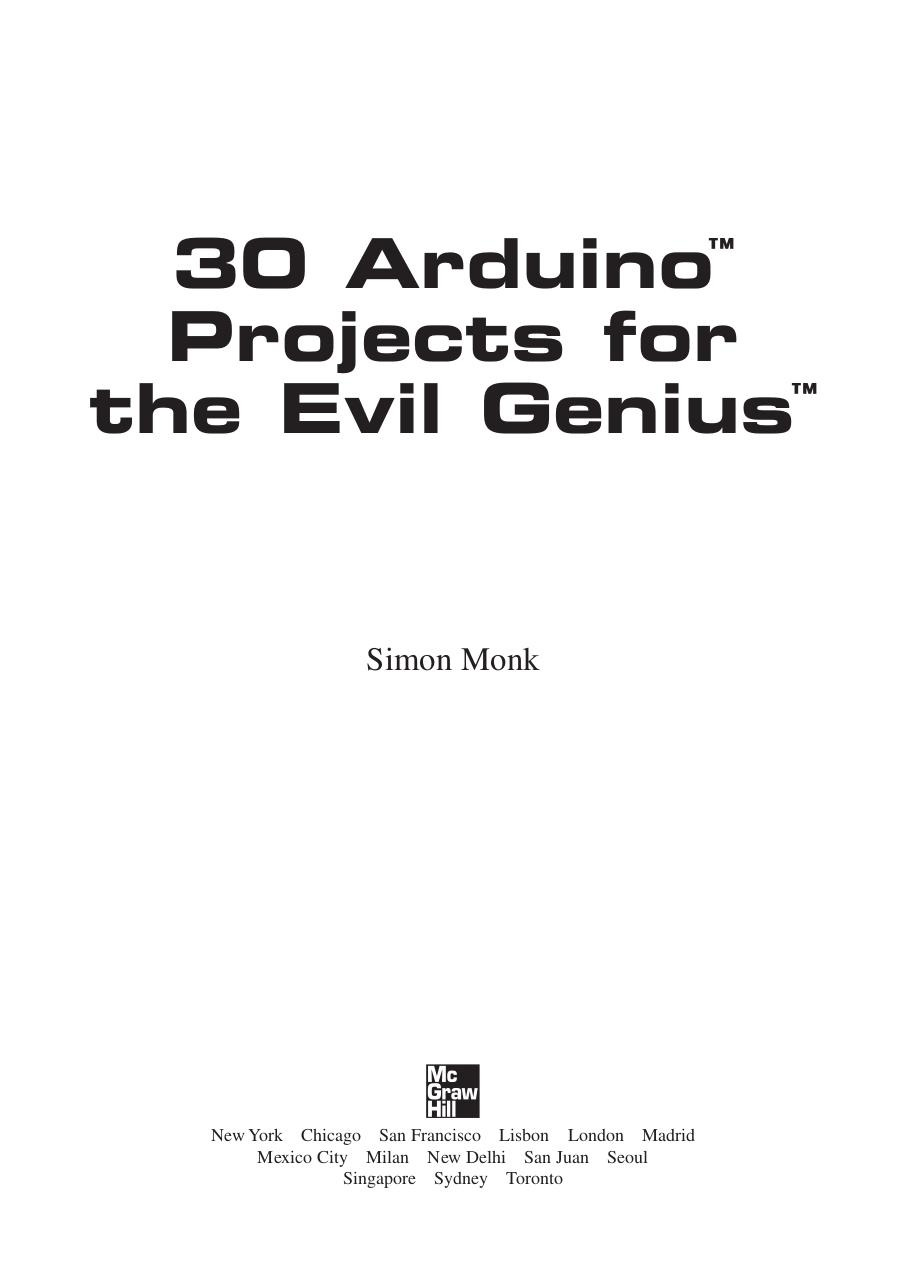 30 Arduino Projects.pdf - page 4/208