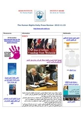 Fichier PDF aihr iadh human rights press review 2013 11 23