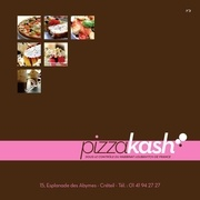 carte pizzakash 2012