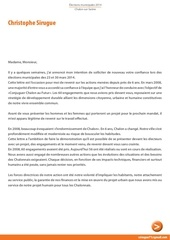 lettre de christophe sirugue