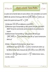 angle oriente 3eme math