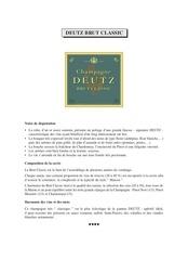 Fichier PDF catalogue des grandes maisons