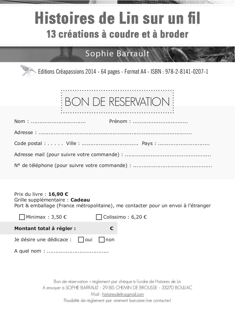 le bon de reservation fichier pdf. Black Bedroom Furniture Sets. Home Design Ideas