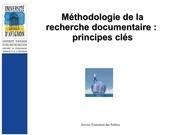 methodo documentaire 1