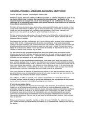 Fichier PDF violences blessures souffrance