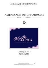 catalogue ventes de noel ambassade du champagne