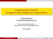 Fichier PDF chapitre1 paradigme de langage de programmation