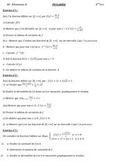 derivabilite bac eco gestion 1