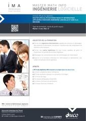 Fichier PDF ima master ingenierie logicielle et aide a la decision