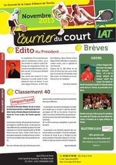 journal parution novembre 2013